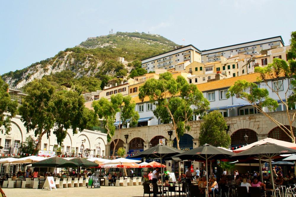Grand Casemates Square während des Landausflug Gibraltar auf eigene Faust