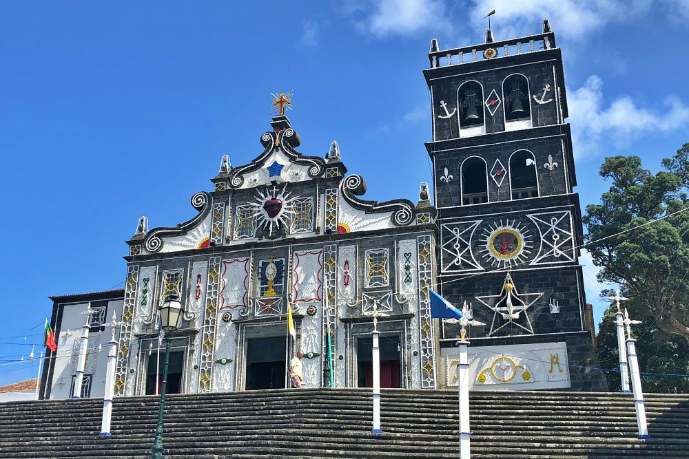 Kirche Igreja Matriz de Nossa Senhora da Estrela in Ribeira Grande