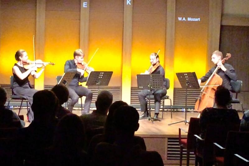 Konzert im Klanghaus der Mein Schiff 4 auf der Kreuzfahrt Mittelmeer mit Andalusien