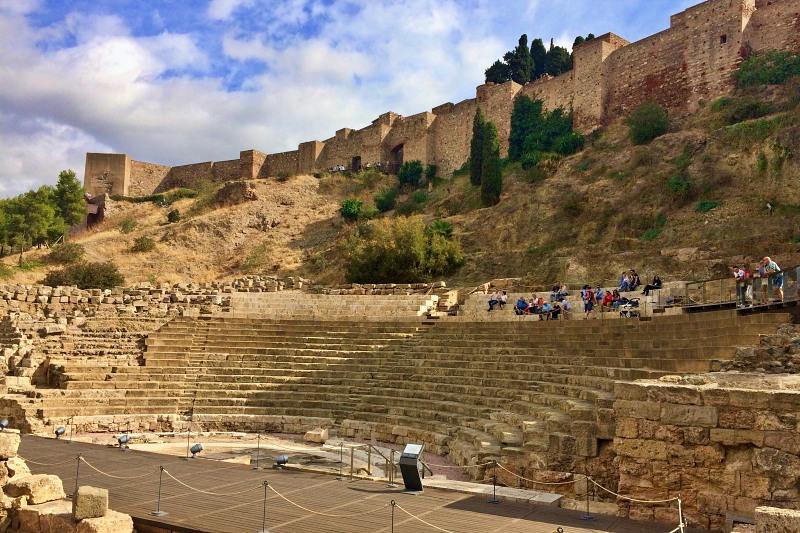 Römisches Theater und Alcazaba Malaga