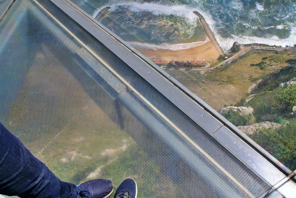 Skywalk Gibraltar während des Landausflug Gibraltar auf eigene Faust