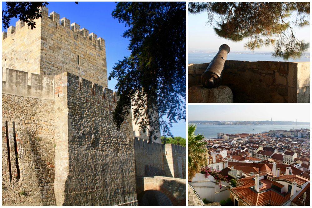 Castello de Sao Jorge Lissabon beim Tagesausflug Lissabon auf eigene Faust
