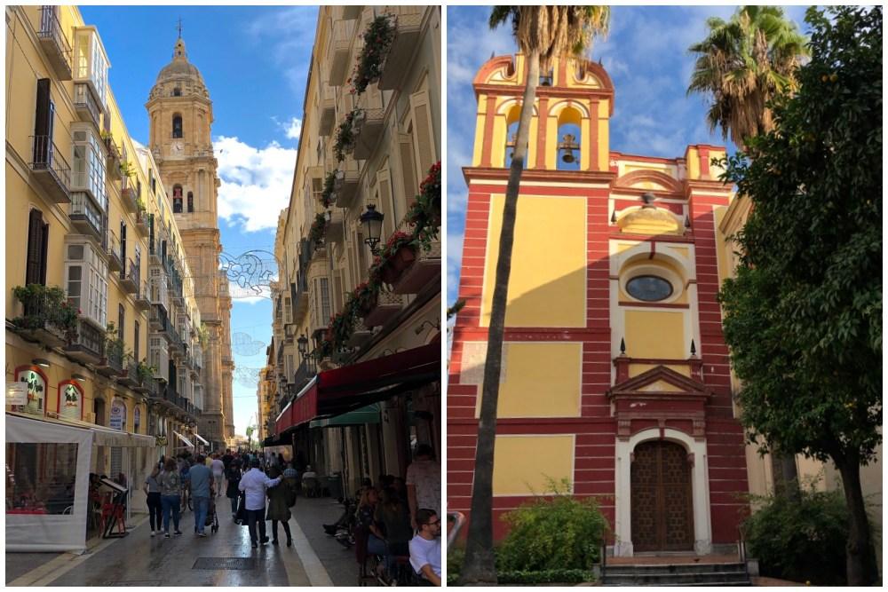 Altstadt von Malaga beim Landausflug Malaga auf eigene Faust