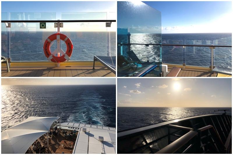 Seetag auf der Mein Schiff 4 Richtung Gibraltar auf der Kreuzfahrt Mittelmeer mit Andalusien