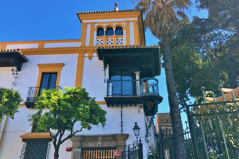 Andalusische Architektur beim Landausflug Sevilla auf eigene Faust