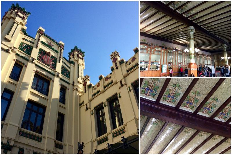 Hauptbahnhof Valencia beim Tagesausflug Valencia auf eigene Faust