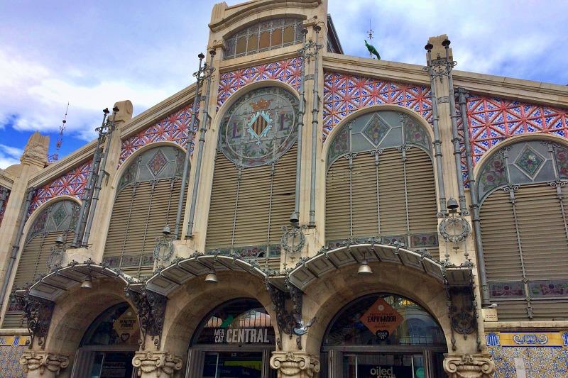 Mercat Central Markthalle während unseres Tagesausflug Valencia auf eigene Faust