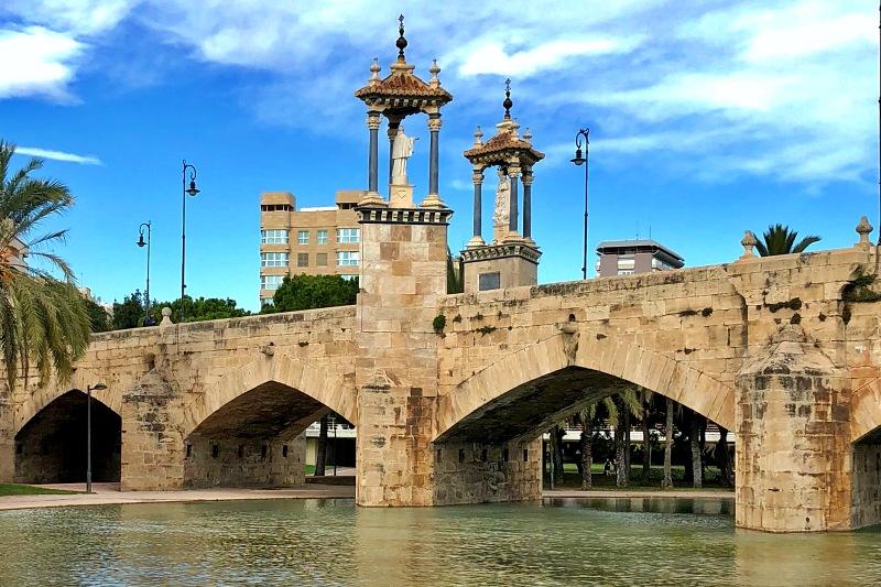 Pont de la Mar beim Tagesausflug Valencia auf eigene Faust