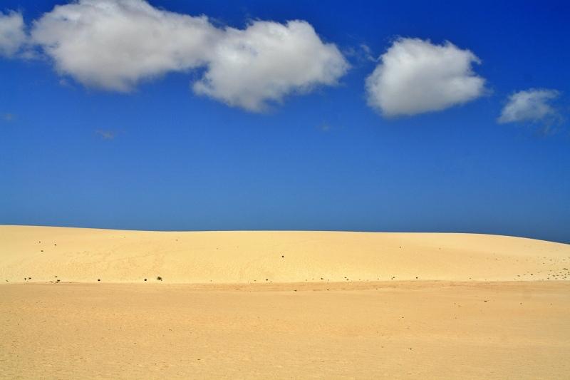 Die Dünen bei Corralejo beim Landausflug Fuerteventura auf eigene Faust