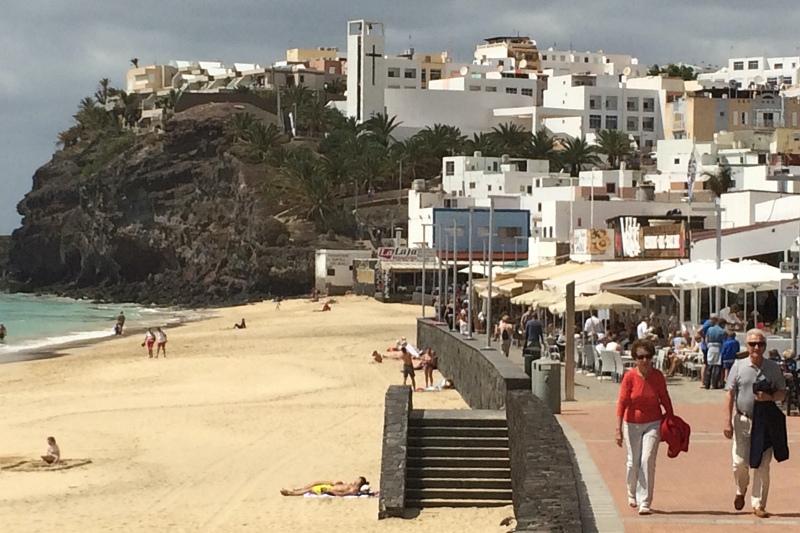 Promenade in Morro Jable auf Jandia
