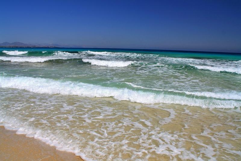 Strand vor Corralejo beim Landausflug Fuerteventura auf eigene Faust