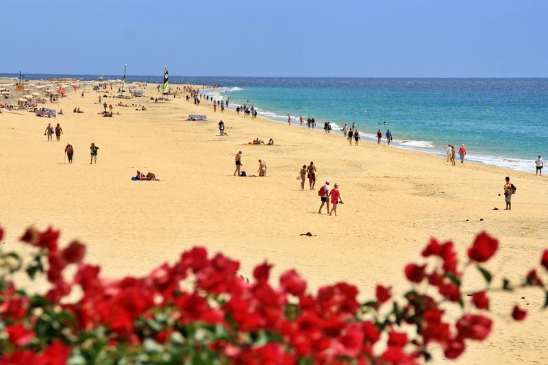 endloser Strand auf Jandia
