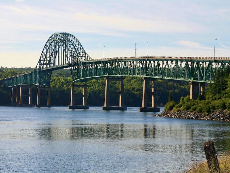 Seal Island Bridge während unseres Landausflug in Sydney