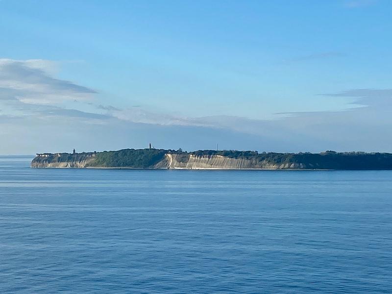 Ausblick von der Mein Schiff 1 auf das Kap Arkona auf Rügen