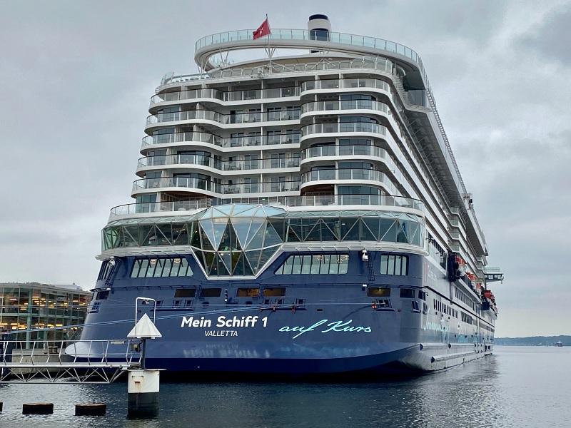 Mein Schiff 1 Ostseekai Kiel Blaue Reise