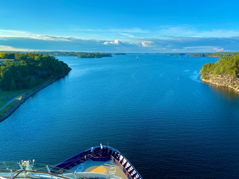 Mein Schiff 1 in den Schären von Stockholm im Jahresrückblick 2020