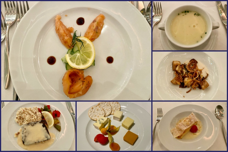 Abendessen im Restaurant Atlantik Klassik während auf der Mein Schiff 1 bei der Blaue Reise