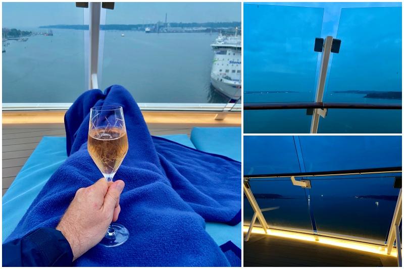 """Die """"Blaue Reise"""" beginnt: Auslaufen der Mein Schiff 1 aus der Kieler Förde"""
